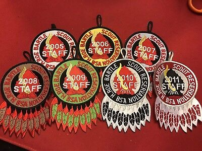 2005-2011 Camp Bartle Staff Patches - Osceola - Mic-O-Say