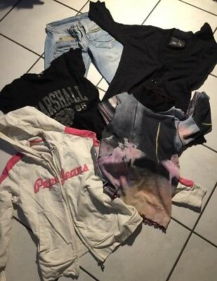 Lot Fille 14.ans Jean Kaporal  Pepe Jeans Top G Star Us Marshall Cop Copine