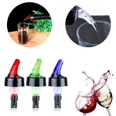 10-60ml Shot Spirit Measure Flow Pourer Bar Red Wine Bottle Dispenser Bar Gadget
