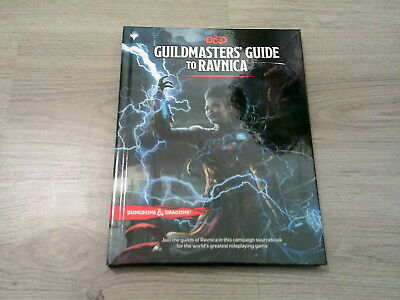 D&D 5th Edition Dungeons & Dragons Guildmasters' Guide to Ravnica Neu New HC