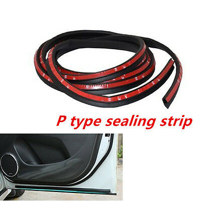 P Type 4 M Moulding Car Door Window Rubber Seal Strip Soundproofing WeatherStrip