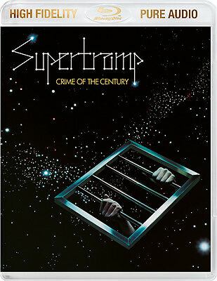 Supertramp Crime of the Century BLU-RAY AUDIO High Fidelity Pure Audio NEW