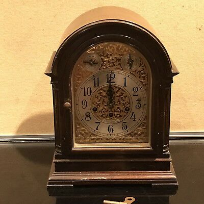Rare Seth Thomas Westminster Chiming Bracket Clock