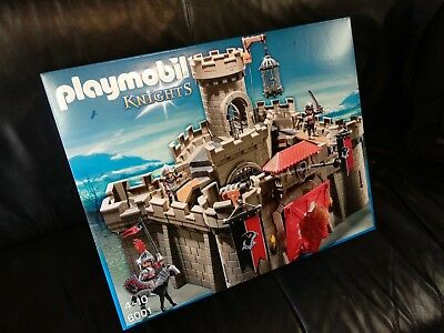 Playmobil Hawk Knights' Castle with Dungeon Kids Play Set Toy Medieval 6001 New
