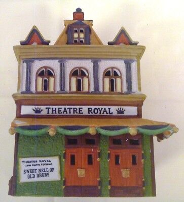 Department 56 Dickens Village THEATRE ROYAL 1989  #5584-0