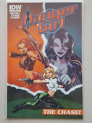 Danger Girl: The Chase #1 - 1:10 Animation Variant