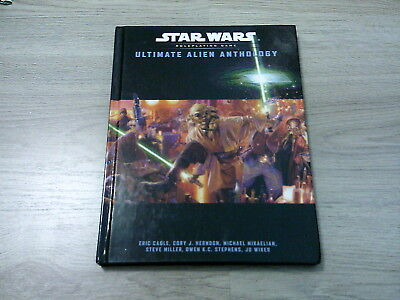 Star Wars Ultimate Alien Anthology Hardcover WotC d20 2003