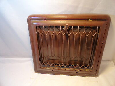 Vintage Metal Heating  Wall Vent Cover /grate Register Angled