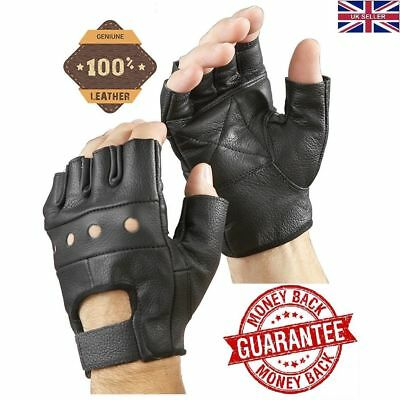 Half Finger Bus Driving Gloves Motorbike Weight Lifting Cycling Wheelchair
