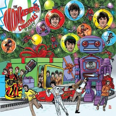 THE MONKEES Christmas Party 2018 UNPLAYED CD holiday Michael Nesmith Davy Jones