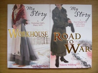 Workhouse by P Oldfield + Road to War by V Wilding (2 pb 2008) 1871+1916 AS NEW