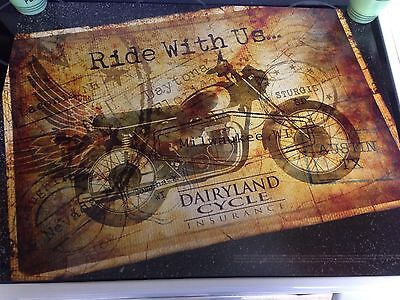 Harley Davidson 24x18 Detailed Poster Of Rally Destinations