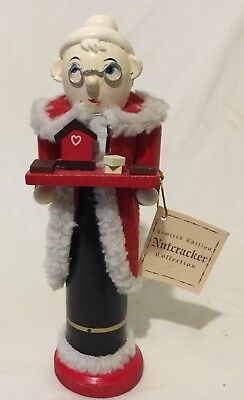 Mrs. Santa Claus Nutcracker 9""
