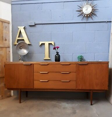 A 1960s DANISH INSPIRED SIDEBOARD MID CENTURY VINTAGE RETRO G PLAN STYLE