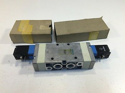 Festo MVH-5/3G-3/8-B Valve New Old Stock