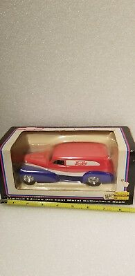 Pepsi Cola Die Cast Metal Collector's Bank Limited Edition NEW liberty classics