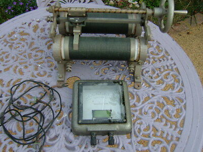 Vintage Double Rheostat Zenith Variable Resistance And  Griffin Galvanoscope