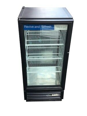 True GDM-10 10 cu. ft. Commercial Refrigerator with LED double sided glass doors