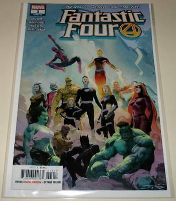 FANTASTIC FOUR # 3 Marvel Comic  (Jan 2019)  NM   1st PRINTING
