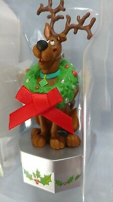 "Scooby Doo Hallmark Magic Keepsake ""Rerry Ristmas"" Scooby Christmas Ornament NIB"
