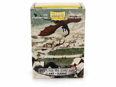 Dragon Shield Type Hunters in the Snow 100 Protective Sleeves Cases Kartenhhülle