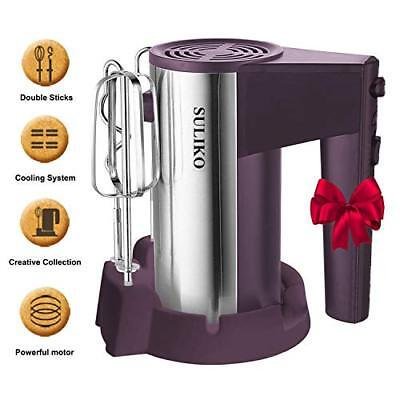 Electric Hand Mixer,  Stainless Steel Mixer Electric 200W 5 Different Speed