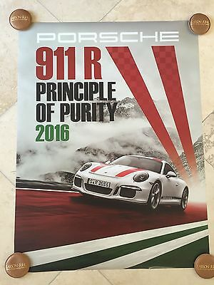 Porsche Factory Poster-2016 911 R   Two Different Posters