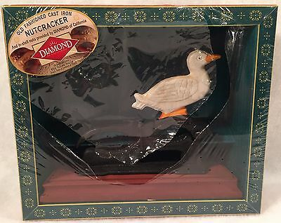 Old Fashioned Cast Iron Nut Cracker DUCK No Nuts Included