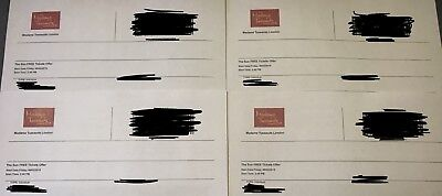 4 Madame Tussaud's London eTickets - Friday 8th February 2019