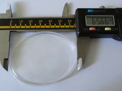 Vintage Replacement Swiza Clock Glass - Perspex (NOS),,