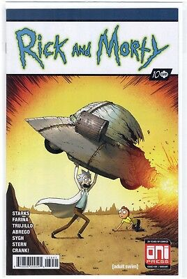 Rick and Morty 39 Mike Vasquez Action Comics 1 Superman Homage Variant Oni Press