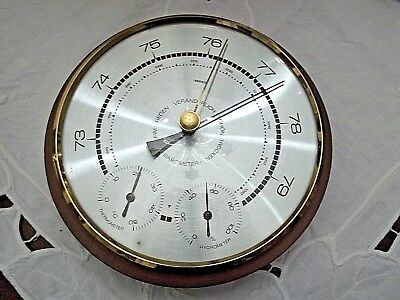 Antike - Wetterstaion  - Scholz - HYGROMETER THERMOMETER BAROMETER
