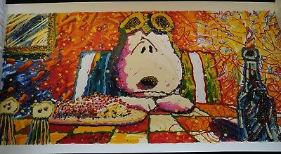 """Tom Everhart """"The Last Supper"""" Limited Edition Lithograph 3/350 signed with COA"""