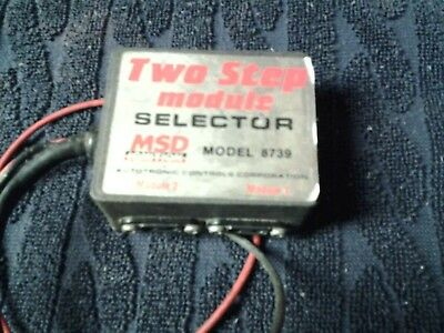 MSD Ignition 8739 Two 2 Step Module Selector Drag Racing Rev limiter