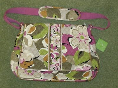 Vera Bradley Messenger Cross-body Shoulder Bag Baby Bag With Changing Pad BNWT