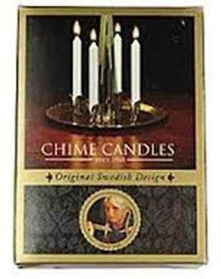 Angel Chime Replacement Candles, Box of 20 White, Swedish Angel Chime fit, NEW