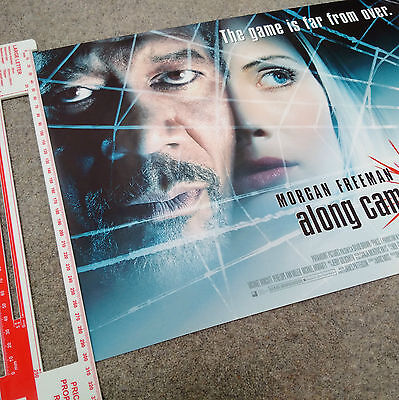 """ALONG CAME A SPIDER Original UK """"Mini"""" Movie Poster MINT/ROLLED! Morgan Freeman"""