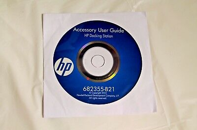 HP Accessory User Guide Disc 682355-B21 NEW 2012 / FREE SHIPPING