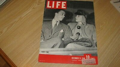 1940 Life Magazine  December 23 Party Time Date  High Grade Lowest Price On Ebay