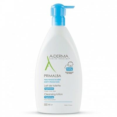 A-Derma Primalba Baby Gentle Cleansing Hydrating Milk 500 ml - Lotion Lait Bebe