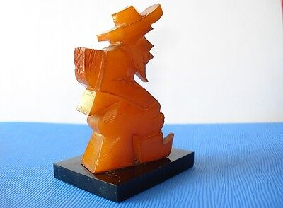 Art Deco Bakelite Figure Figurine Simichrome Tested