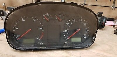VW TRANSPORTER DASH clocks instruments cluster VW TRANSPORTER t5 in