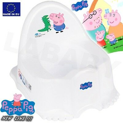 TEGA BABY Childrens Baby Steady ECO POTTY with melodies Toilet  Peppa Pig