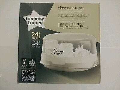 Tommee Tippie closer to nature microwave steam sterilizer