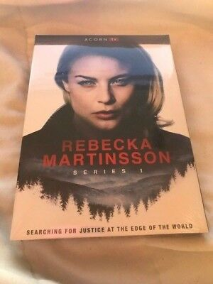 Rebecka Martinsson: Series 1 (DVD, 2018 2-Disc)`*FACTORY SEALED`` FREE SHIPPING