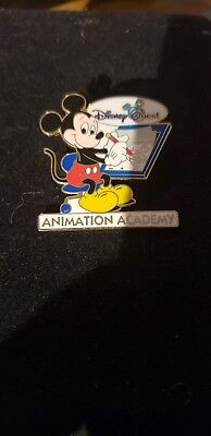 "Disney Quest Mickey Animation Academy ""rare"" Htf Pin"
