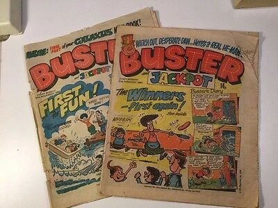 Buster And Jackpot Comics - 2 Copies