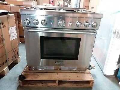 "Thermador 36"" SS Pro Harmony Gas Range PRG366GH"