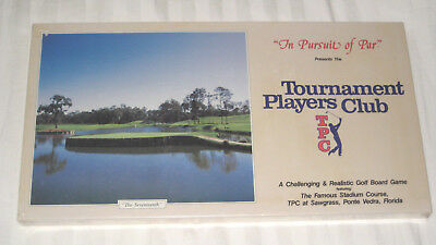 In Pursuit of Par TPC Sawgrass Edition Golf BOARD GAME 1988 New Sealed