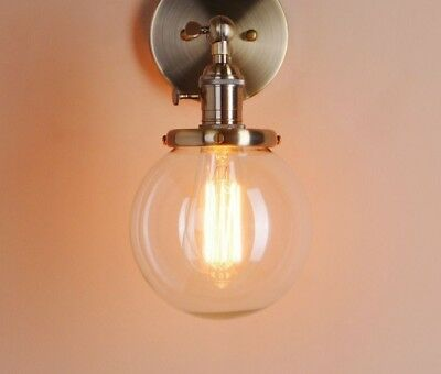 Vintage Wall Lamp Modern Glass Sconce Lights Luminaire For Home Loft Bedroom